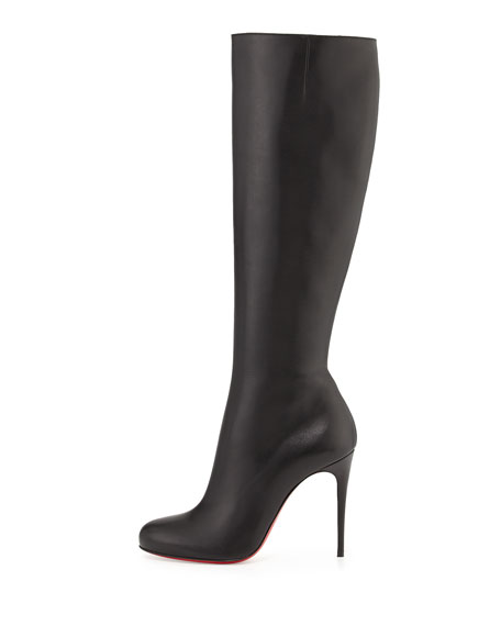 a81833bccd0 Fifi Botta Red Sole Knee Boot
