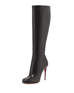 Christian Louboutin Fifi Botta Red Sole Knee Boot