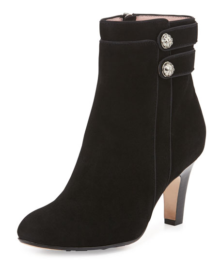 Taryn Rose Tatum Double-Button Bootie