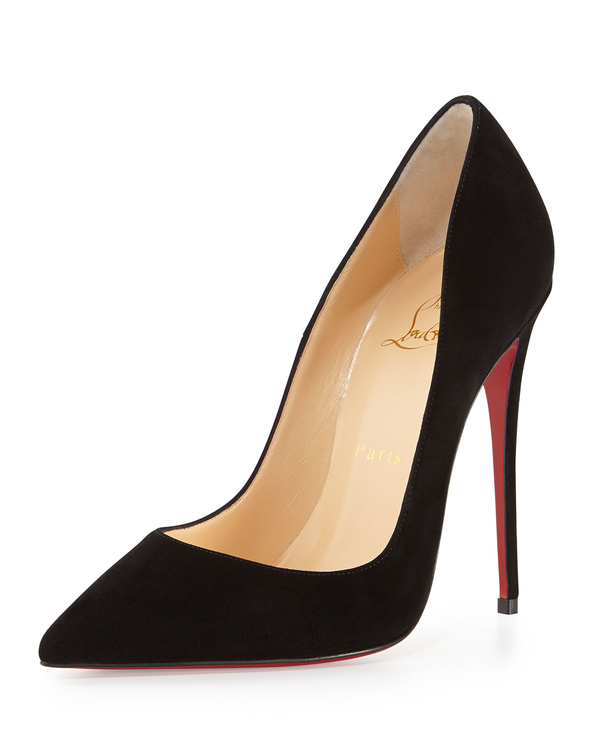 d70241ddc586 Christian Louboutin So Kate Suede Red Sole Pump