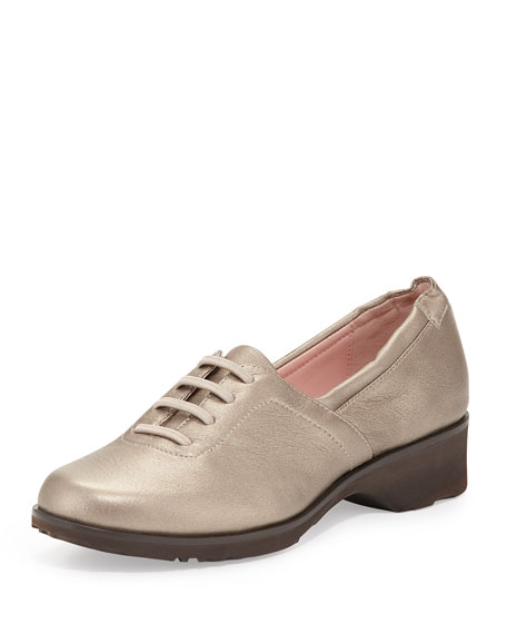 Taryn Rose Takala Traveler Lace-Up Slip-On, Quartz