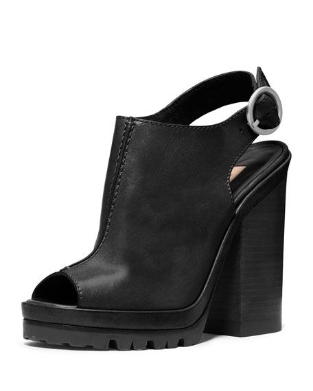 Runway Patras Leather Sandal