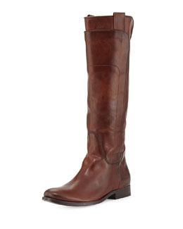 Frye Melissa Tall Riding Boot, Redwood