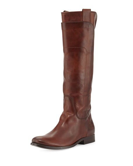 Melissa Tall Riding Boot, Redwood