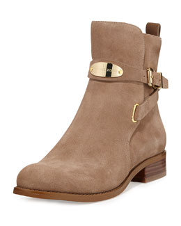 MICHAEL Michael Kors Arley Suede Ankle Boot