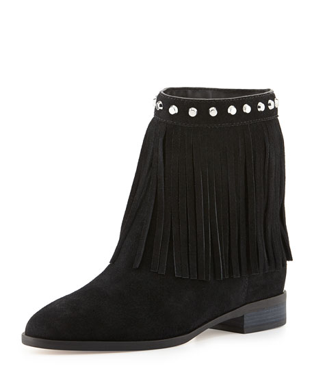Billy Studded Fringe Bootie