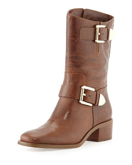 MICHAEL Michael Kors Robin Leather Boot