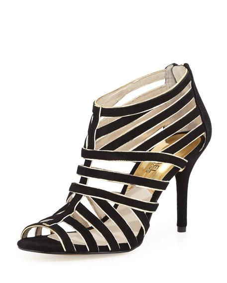 Tatiana Back-Zip Sandal