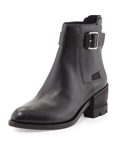 MARTINE BUCKLE ANKLE BOOT