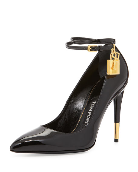 56679a4f602 TOM FORD Patent Ankle Lock Pump