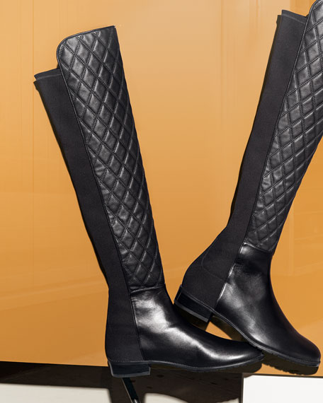 c7cba9a5bbf Stuart Weitzman Quiltboot 50 50 Over-the-Knee Boot