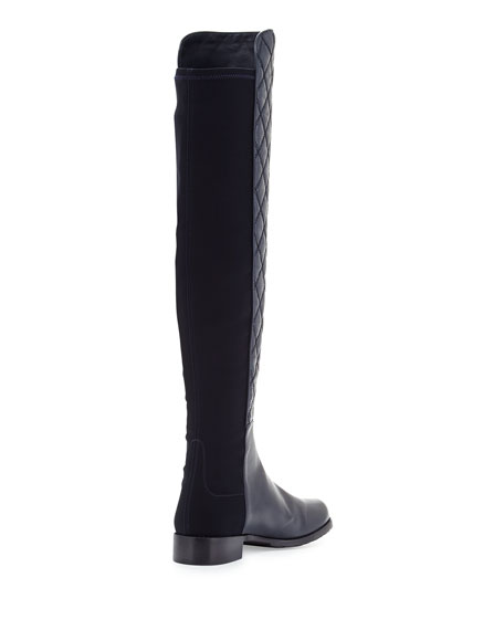 Quiltboot 50/50 Over-the-Knee Boot, Navy
