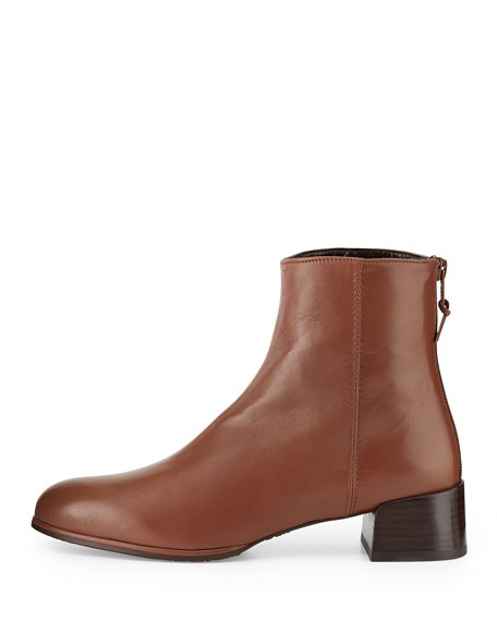 Modesto Leather Ankle Boot, Luggage