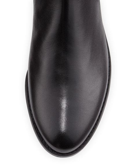Schizo Napa Stretch Over-the-Knee Boot, Black