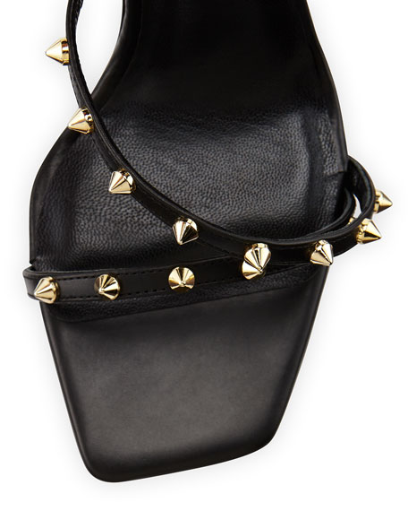 Coline Studded Bow-Back Sandal