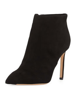 Vince Chara Suede Ankle Boot, Black