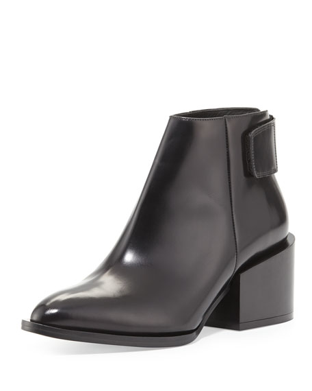 Laird Leather Ankle Boot, Black