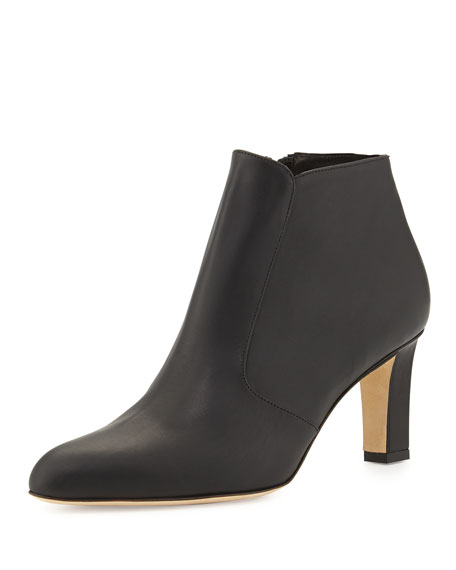 Zavattinapla Leather Ankle Boot