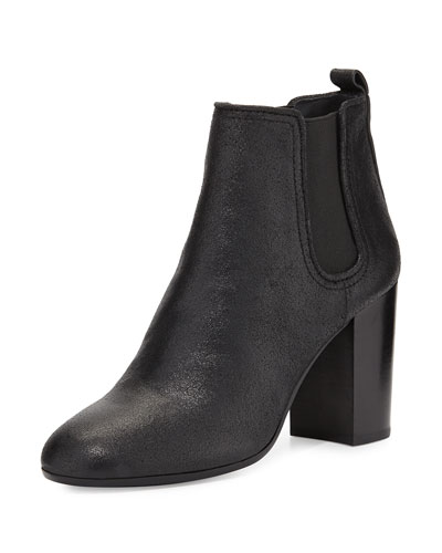 Tory Burch Margaux Gored Ankle Boot, Black