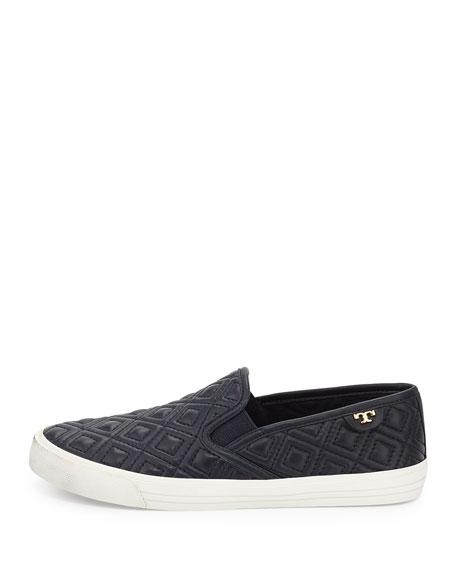 Jessie Quilted Slip-on Sneaker, Bright Navy