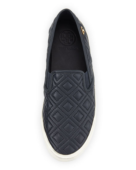 Tory Burch Jessie Quilted Slip-on Sneaker, Bright Navy