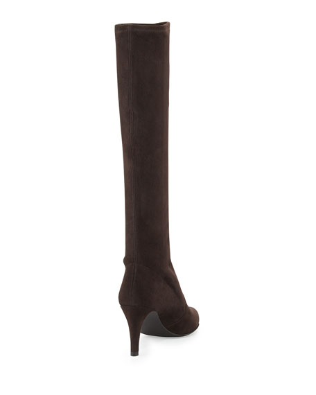 Coolboot Stretch Suede Boot, Cola