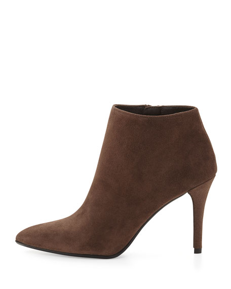 Carltone Suede Bootie, Funghi (Made to Order)