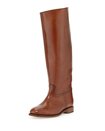 Frye Abigail Leather Riding Boot, Whiskey