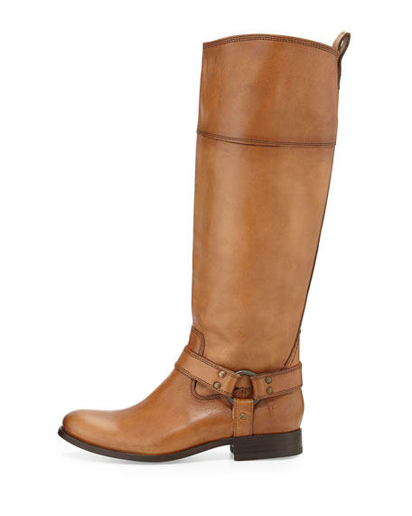 Melissa Harness Riding Boot, Camel