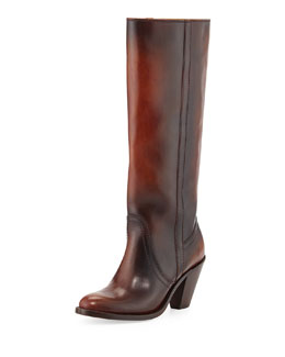 Frye Mustang Pull-On Boot, Redwood