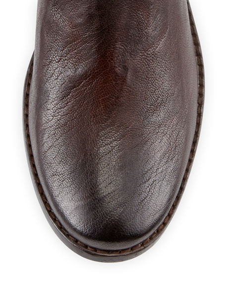 Anna Shortie Leather Boot