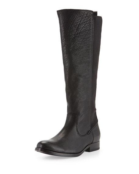 Frye Molly Stretch-Back Tall Boot, Black