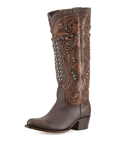 Frye Deborah Deco Tall Boot