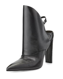 Alexander Wang Lys High-Cut Pointed-Toe Bootie
