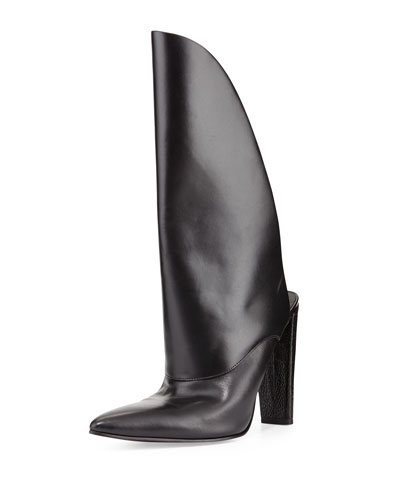 Alexander Wang Runway Leather Bootie Mule