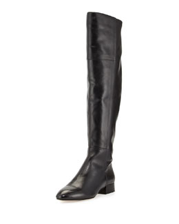 Joie Daymar Leather Over-the-Knee Boot