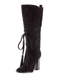 Michael Kors  Jessa Wrap-Around Tassel Boot