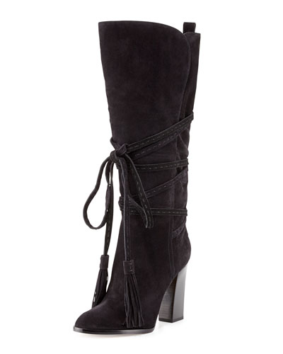 Michael Kors  Jessa Wrap-Around Tassel Boot