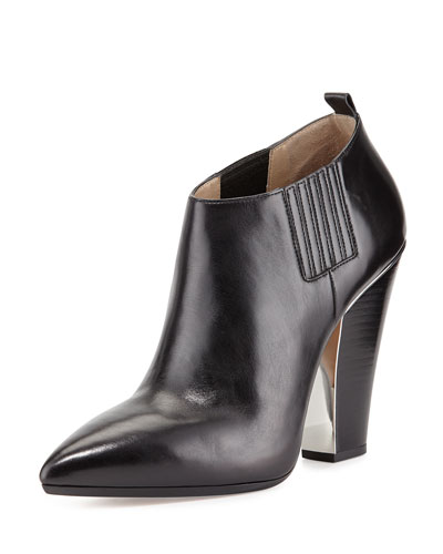 Michael Kors Lacy Pointed-Toe Bootie