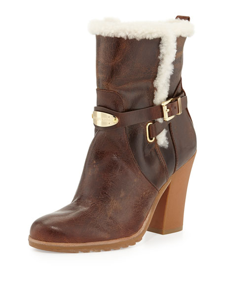 Lizzie Fur-Lined Ankle Boot