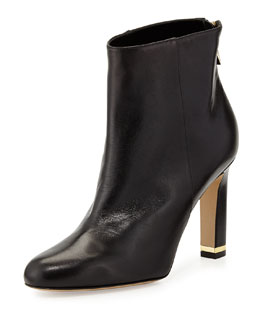 kate spade new york akane leather ankle boot