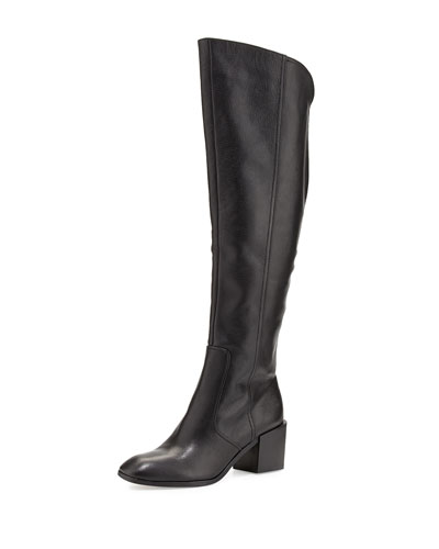 Pour la Victoire Felicia Pebbled Knee Boot