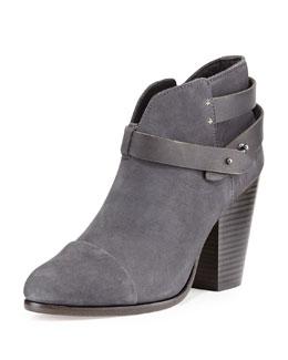Rag & Bone Harrow Nubuck Ankle Boot, Slate