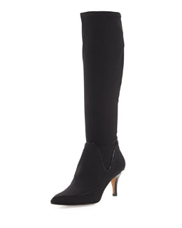 Donald J Pliner Tracey Stretch Knee Boot