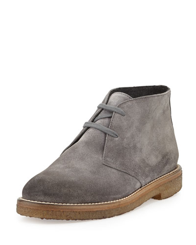 Vince Clay Suede Desert Boot, Graphite