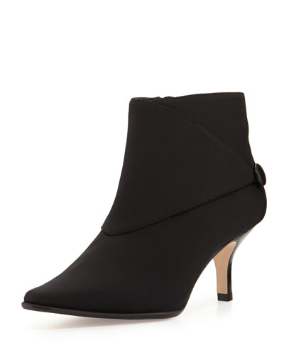 Donald J Pliner Loli Crepe Ankle Boot, Black