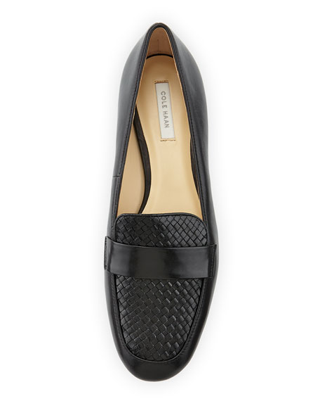Dakota Woven Loafer, Black