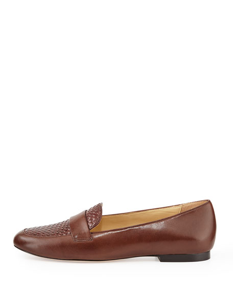 Dakota Woven Loafer, Chestnut