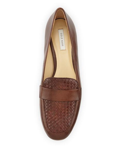Dakota Woven Loafer, Chestnut
