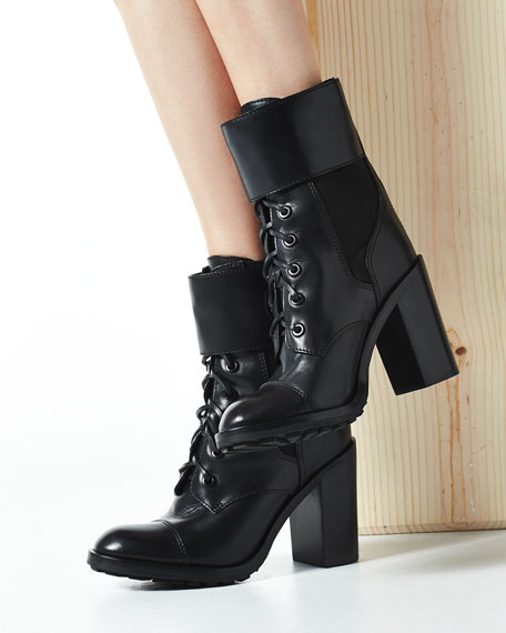 Tory Burch Broome Combat Boot